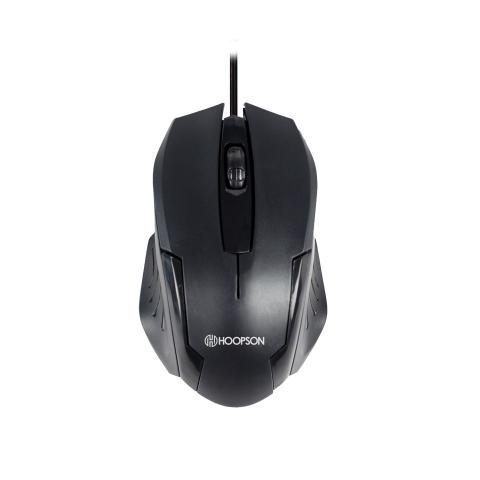 Mouse Usb Óptico Led 1000 Dpis Ms-032x Hoopson