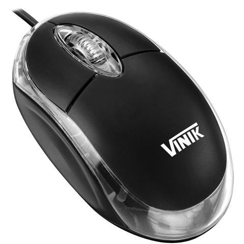 Mouse Ps2 Óptico Led 800 Dpis Preto Mb-10 Vinik