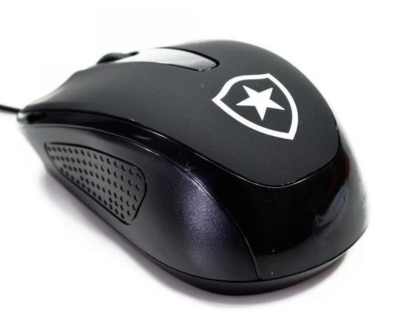 Mouse Usb Óptico Led Botafogo Mileno