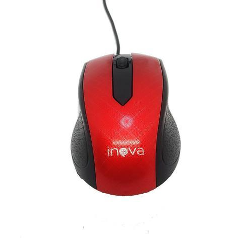 Imagem de Mouse Óptico Led USB 1000 DPI 3 Botões Windows e Linux