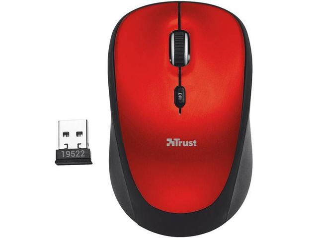 Mouse Óptico Led Fio Yvi Trust