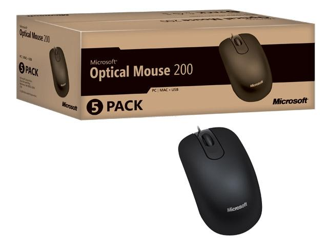 Imagem de Mouse Óptico USB Microsoft Black 35H-00006 OEM