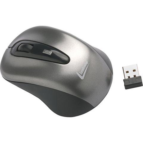 Mouse Wireless Óptico Led 1600 Dpis Precision 1996 Leadership