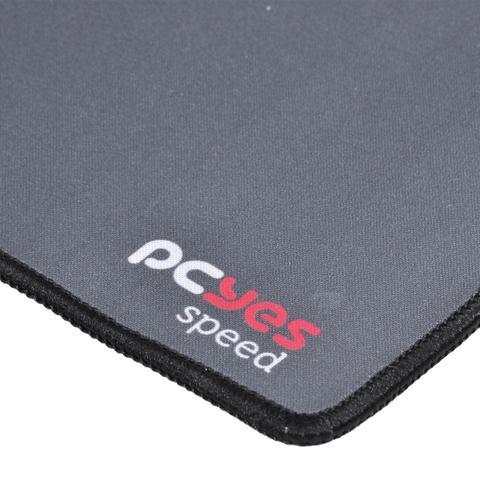 Imagem de Mouse pad gamer dash speed 355x254x3mm cinza pc yes