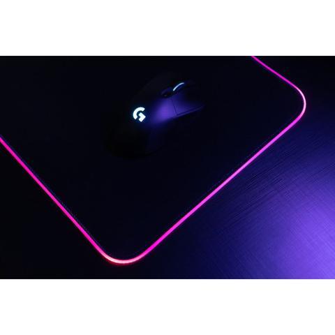 Imagem de Mouse Pad Gamer RGB MaxRacer Com SoftWare 80x30cm Preto