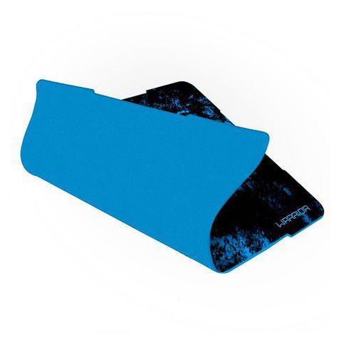 Imagem de Mouse Pad Gamer Warrior Preto/Azul Multilaser AC288
