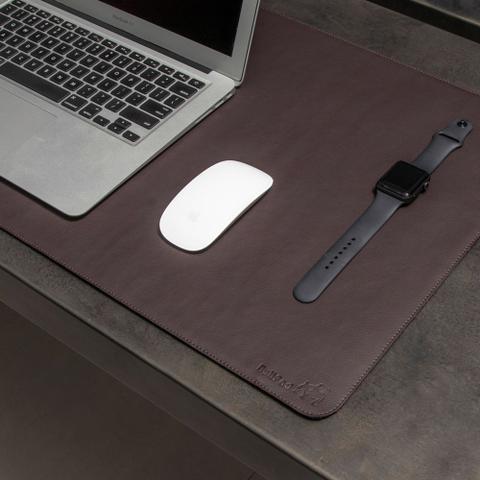 Imagem de Mouse Pad Gigante Desk Pad BULLPAD CAFÉ 90x40cm em Sintético