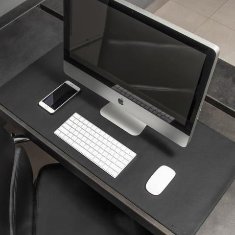 Imagem de Mouse Pad Gigante Desk Pad BULLPAD PRETO 90x40cm em Sintetico