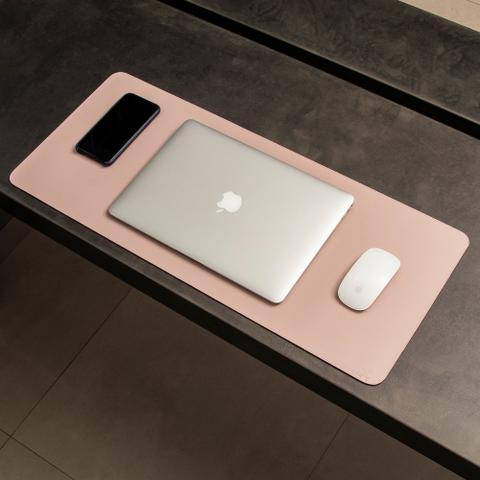 Imagem de Mouse Pad Gigante Desk Pad BULLPAD ROSA 70x30cm em Sintético