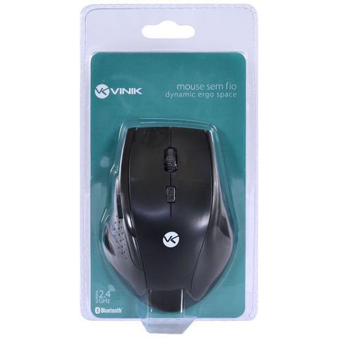 Mouse Usb Laser 1200 Dpis Ergo Dm120 Vinik