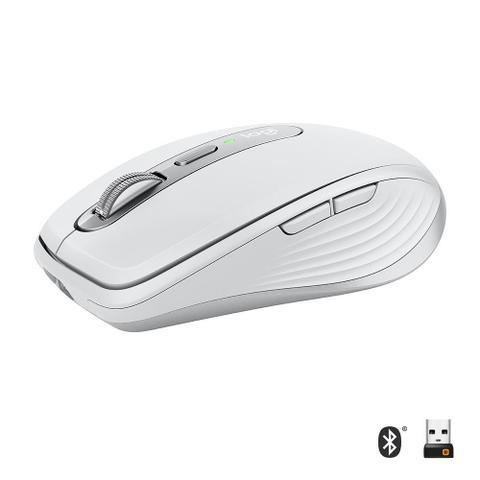 Mouse Bluetooth Óptico Led 4000 Dpis Mx Anywhere 3 Logitech