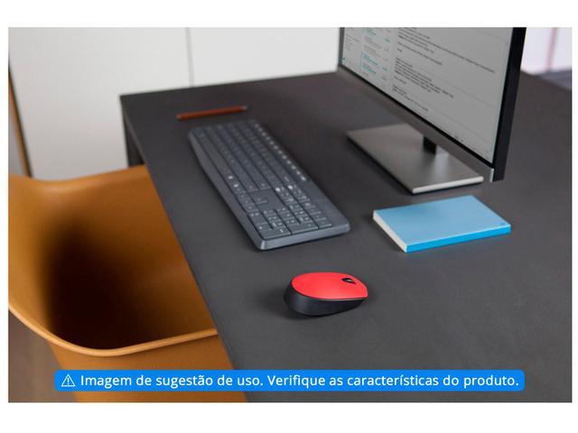 Imagem de Mouse sem Fio Logitech Óptico 1000DPI M170