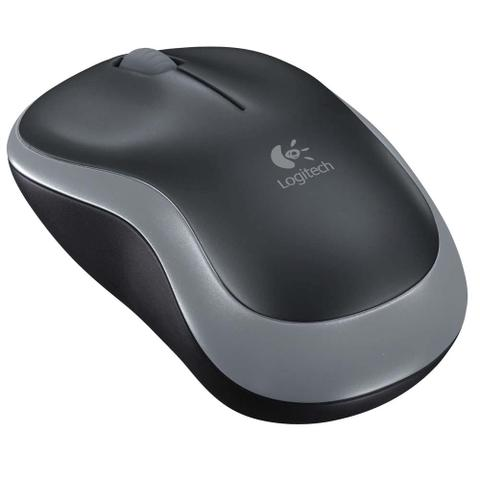 Mouse Wireless Óptico Led 1000 Dpis M185 Preto Logitech