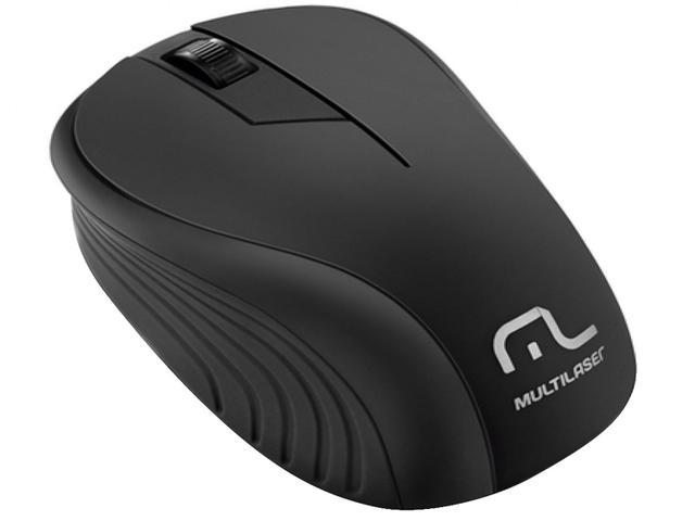 Imagem de Mouse Sem Fio Multilaser Laser 1200dpi