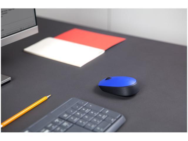 Imagem de Mouse Sem Fio Sensor Óptico 1000dpi Logitech