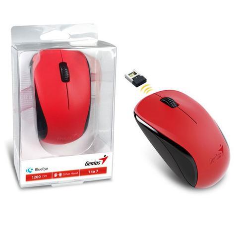 Mouse Wireless Blueeye 1200 Dpis Nx-7000 Vermelho 31030109120 Genius