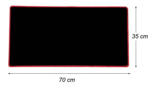 Imagem de Mousepad Gamer Extra Grande Large Mouse Teclado 70x35 Cm
