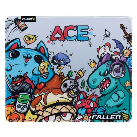 Imagem de Mousepad gamer fallen ace - control médio