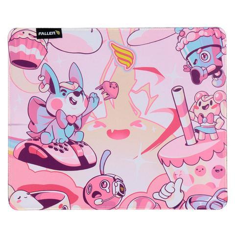 Imagem de Mousepad gamer fallen candy - speed+ médio
