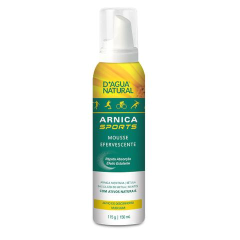 Imagem de Mousse Efervecente Arnica Sports 150ml Dagua Natural