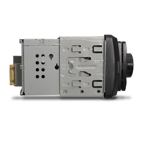 Imagem de MP3 Player Automotivo Multilaser Pop BT P3336 1 Din LED Bluetooth USB Micro SD Auxiliar P2 Rádio FM