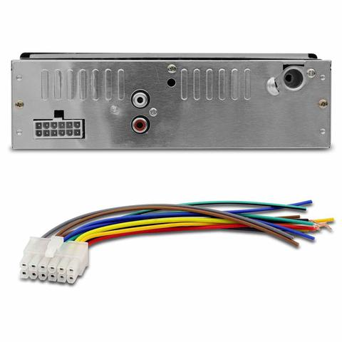 Imagem de MP3 Player Automotivo Shutt Montana 1 Din 3.5 Polegadas Bluetooth USB SD FM 1782B com Controle