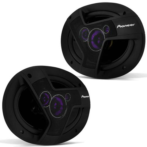 Imagem de MP3 Player HR420 BT Bluetooth USB + Par Alto Falante Pioneer TS-6941TBR 6x9 Polegadas 200W RMS