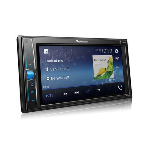 Imagem de MP3 Player Pioneer MVH-A218BT 2Din 6,2 Polegadas USB Bluetooth FM AUX  Interface Android Iphone + Câmera de Ré