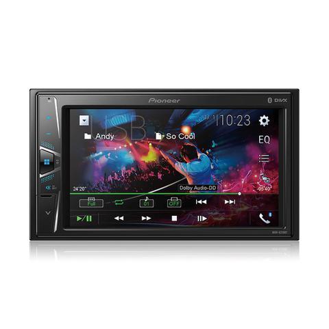 Imagem de MP3 Player Pioneer MVH-G218BT 2Din 6,2 Polegadas Bluetooth USB AUX FM RCA Entrada Câmera Ré