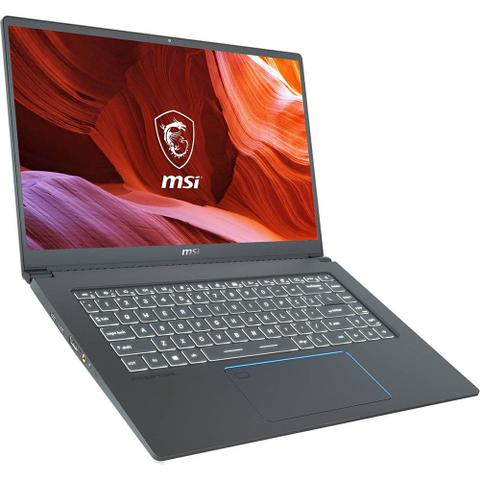 "Notebookgamer - Msi Prestige 15 I7-10710u 4.0ghz 32gb 1tb Ssd Geforce Gtx 1650 Windows 10 Professional 15"" Polegadas"