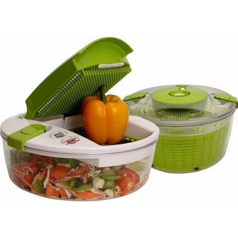 Imagem de Multi Salad Chef Picador Tipo Tupperware Cortador Fatiador
