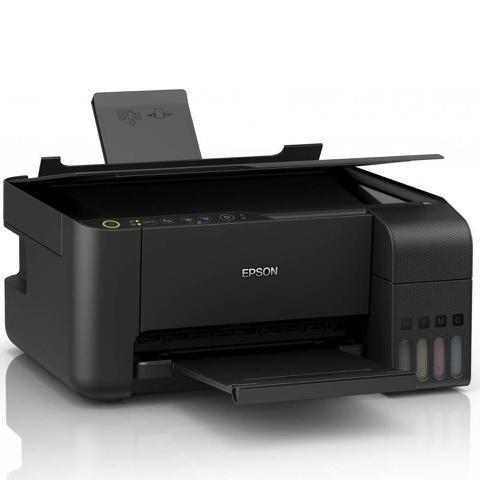 Imagem de Multifuncional Epson Ecotank L3150 Tanque de Tinta Wireless Wi-Fi Direct USB 2.0 Bivolt