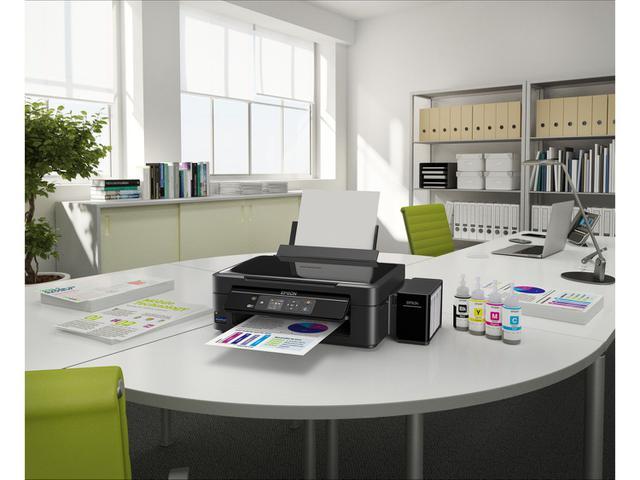 Imagem de Multifuncional Epson EcoTank L455 Tanque de Tinta