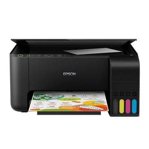 Imagem de Multifuncional Epson L3150 Tanque de Tinta EcoTank Colorida, USB, Wi-Fi Direct, Bivolt
