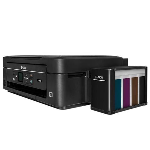 Imagem de Multifuncional Epson L455 Tanque de Tinta Colorida, Wi-Fi, Bivolt