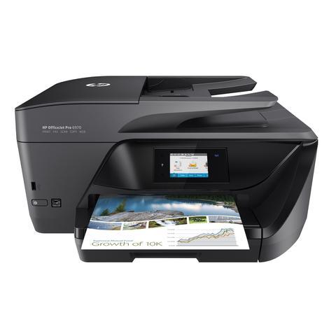 Imagem de Multifuncional HP Officejet Pro 6970 (Fax / Scanner / USB / Copiadora / All In One)