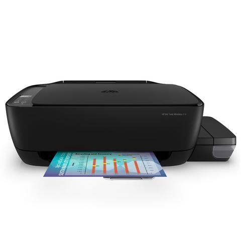 Imagem de Multifuncional Jato de Tinta Color HP Z4B55AAK4 HP INK Tank Wireless 416 IMP/COPIA/DIG/WIFI 18PPM