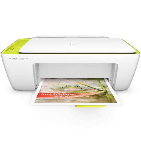 Imagem de Multifuncional Jato de Tinta HP DeskJet Ink Advantage 2136 - Colorida
