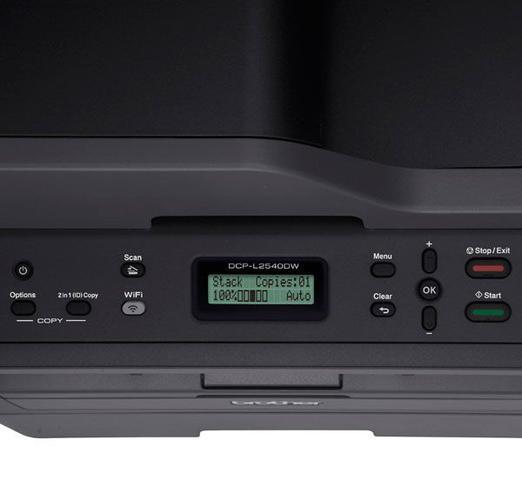 Imagem de Multifuncional Laser Mono Brother DCP-L2540DW 30ppm Duplex Wireless
