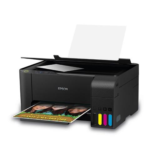 Imagem de Multifuncional Tanque de Tinta Epson EcoTank L3110 - Impressora, Copiadora, Scanner