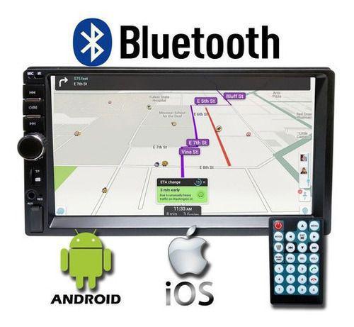 Imagem de Multimidia mp5 first option 7810h bluetooth ios android