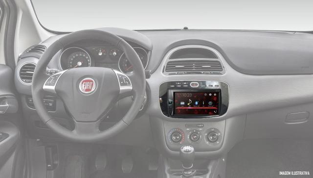 Imagem de Multimídia Pioneer DMH-G228BT Fiat Punto 2012 à 2016 Linea 2015 à 2017 Interface Comando Volante + Câmera Ré