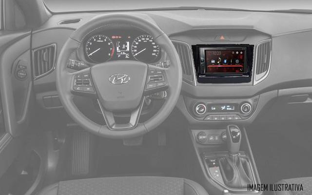 Imagem de Multimídia Pioneer DMH-G228BT Hyundai Creta Bluetooth USB + Moldura + Interface Volante + Chicotes + Câmera Ré