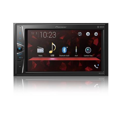 Imagem de Multimídia Pioneer DMH-G228BT Jeep Renegade PCD Bluetooth USB + Moldura + Chicote Adaptador Antena + Câmera Ré