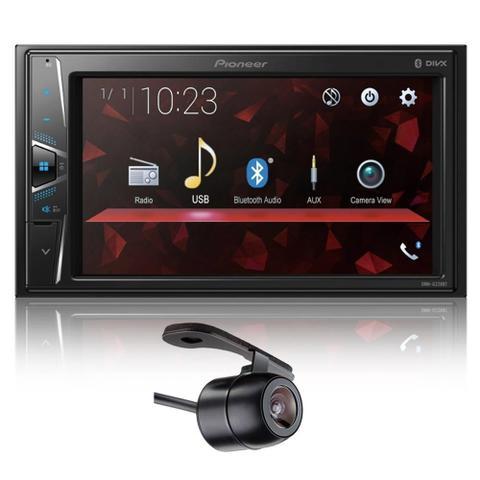 Imagem de Multimidia Pioneer Dmh-G228bt Usb/Bluetooth + Câmera Ré