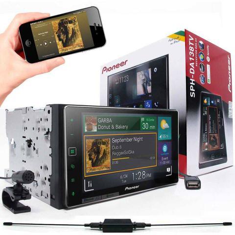 Imagem de Multimidia Receiver Pioneer Sph-da138tv Tela 6.2 Capacitiva bluetooth tv digital usb