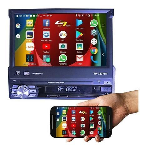 Imagem de Multimidia Retrátil Gm Agile Sistema Android Bluetooth Gps