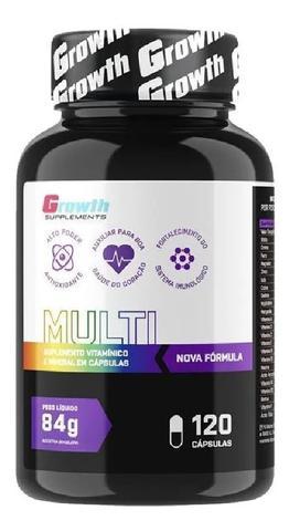 Imagem de Multivitaminico 120 Caps + Zma 120 Caps Growth Supplements