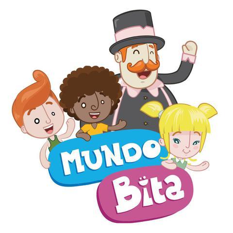 Imagem de Mundo Bita Boneco Bita De Vinil Articulado Líder Brinquedos