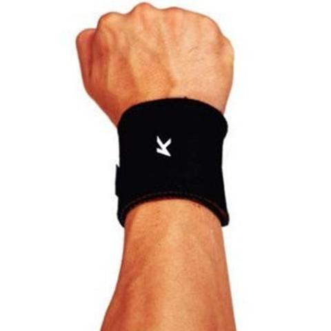 Imagem de Munhequeira Elástica Pulso Proteção Ortopédica Esportes Lesões Tendinite